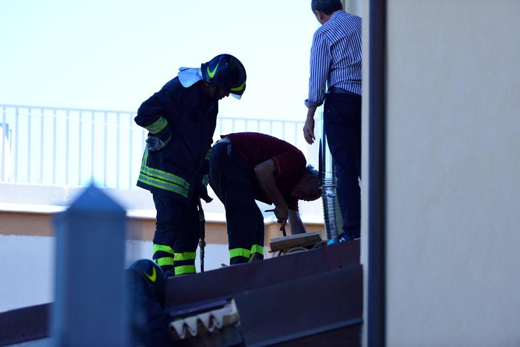 Incendio in una villetta del Villaggio Mosè, indagini dei Carabinieri