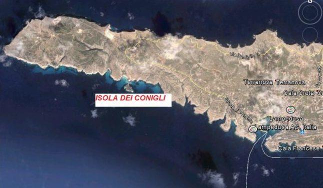 """Nessuna frana a Lampedusa, i Vigili del Fuoco: """"Piccolo smottamento, soccorso turista ferito"""""""