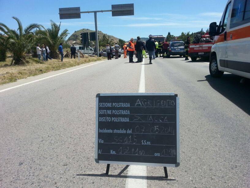SS 115: incidente nel tratto Licata – Gela, tre feriti
