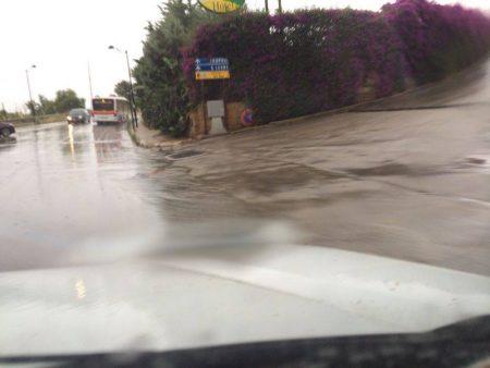 Nuovo violento temporale ad Agrigento, allagamenti anche in provincia