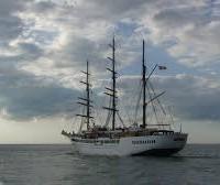 Il veliero Sea Cloud II da un'immagine di Wikipedia