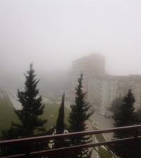 Nebbia ad Agrigento