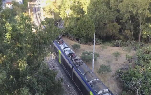 Maltempo, lunedì disagi per la circolazione dei treni lungo la Palermo – Agrigento