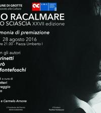Premio Racalmare Leonardo Sciascia 2016