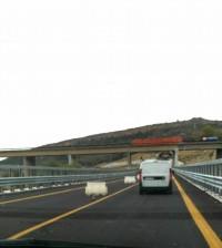 Il viadotto Petrusa - Foto presa dal gruppo Facebook 'La SS 640'