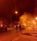 Incendio auto bonamorone agrigento