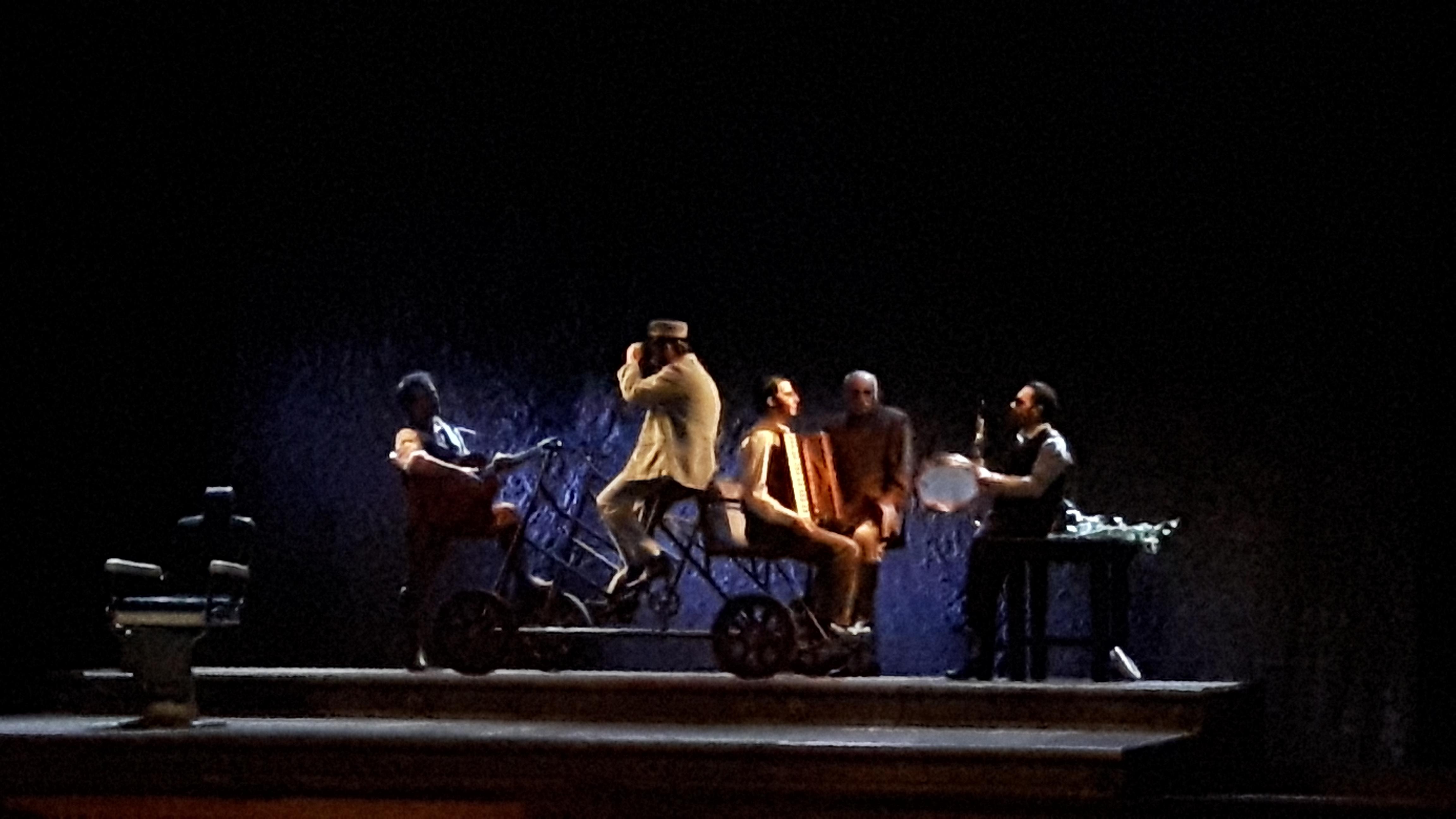 """""""Il Casellante"""" di scena al Teatro Pirandello: tripudio di applausi per la trasposizione di Dipasquale"""