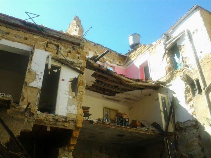 Nuovo crollo nel centro storico di Agrigento