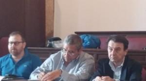 Salvatore Cuffaro presente al convegno di ieri dell'ODG. Foto tratta da Repubblica.it, in quanto il sottoscritto non ha avuto interesse nemmeno a dotarsi di un'immagine d'archivio dell'ex governatore
