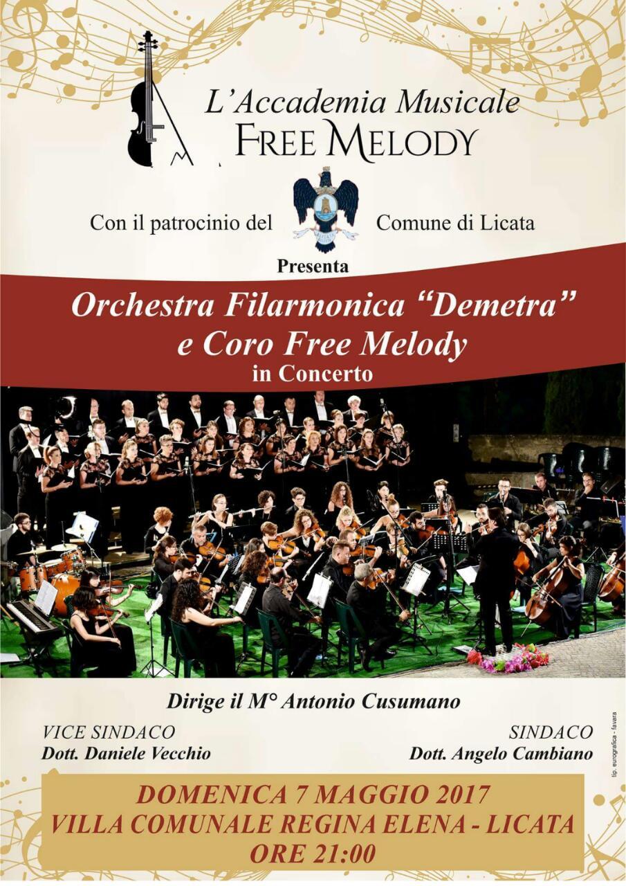 L'accademia Free Melody a Licata per la chiusura della festa di Sant'Angelo