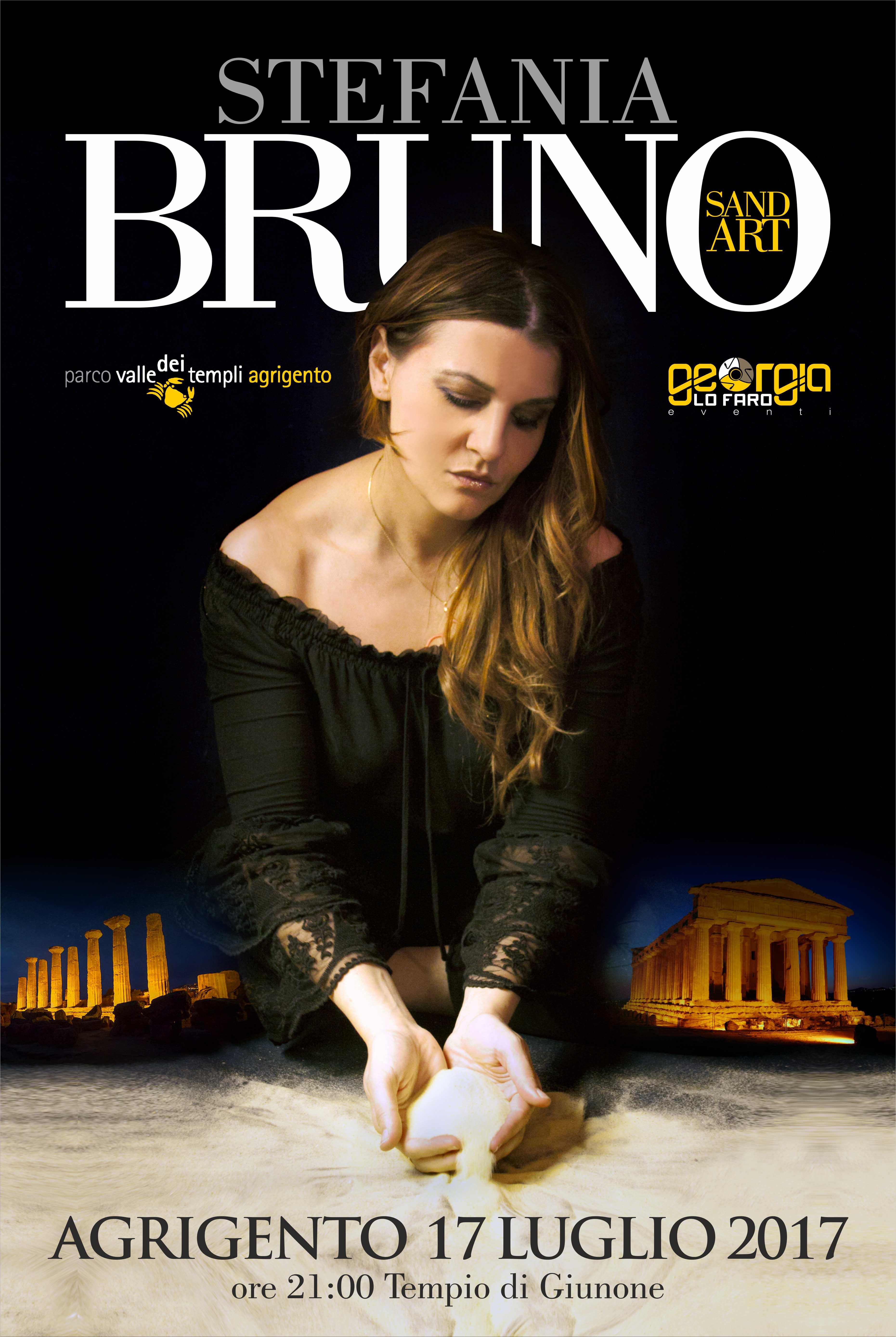Stefania Bruno lunedì sera al tempio di Giunone