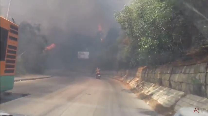 Inferno di fuoco a Sciacca, abitazioni evacuate e cittadini intossicati