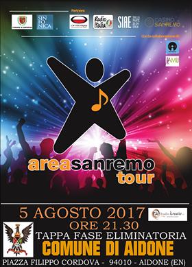 Area Sanremo Tour 2017, il 5 agosto tappa siciliana ad Aidone
