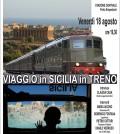 viaggio in Sicilia in treno - locandina