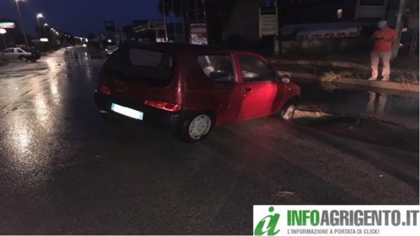 Maltempo: notte di pioggia ad Agrigento, danni nel palermitano