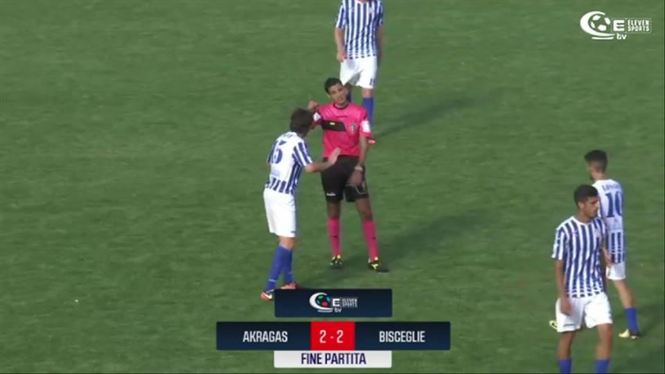 Serie C: Akragas beffata nel finale, con il Bisceglie finisce 2 – 2