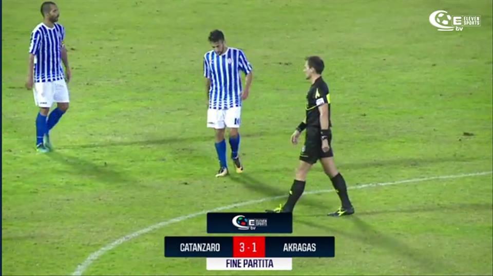 Serie C, Akragas sconfitta a Catanzaro