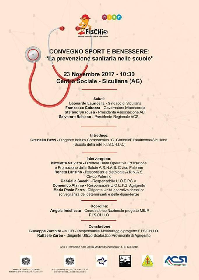 Convegno su sport e benessere a Siculiana