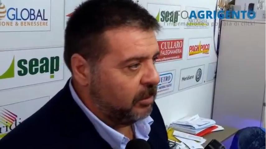 """Akragas, la conferenza stampa di Alessi: """"Pronto a cedere ad una nuova società"""""""
