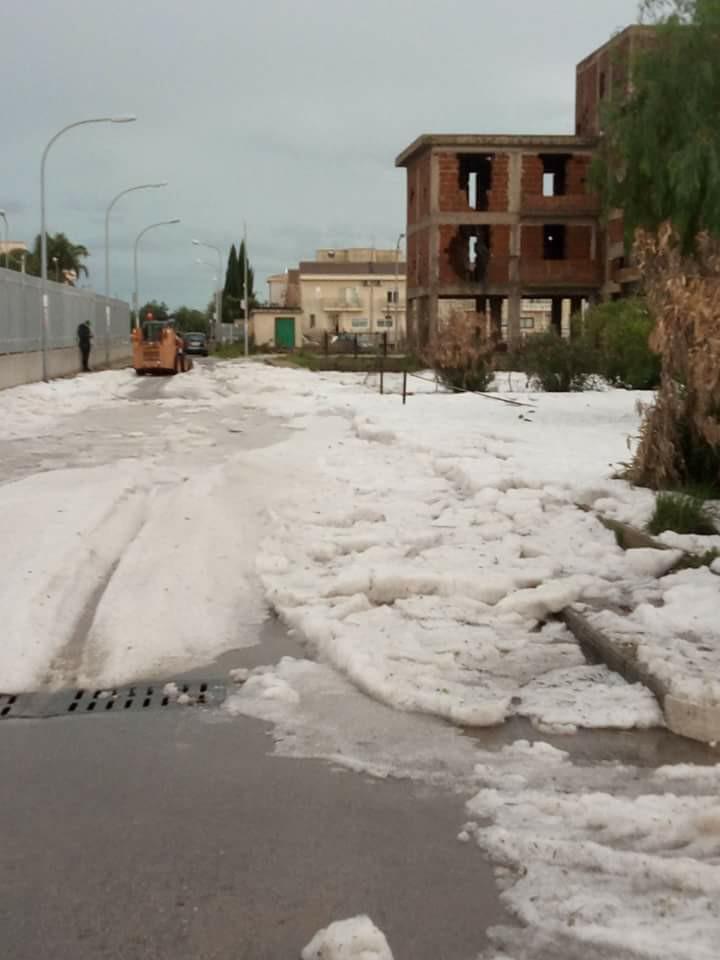 Maltempo: agrigentino sfiorato dai temporali, molti danni nel ragusano
