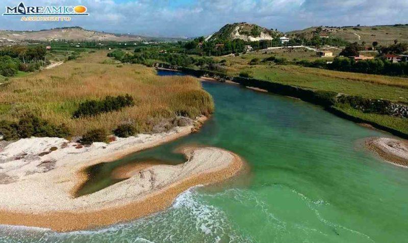 'Fiume Magazzolo inquinato dall'olio': denuncia di MareAmico Agrigento