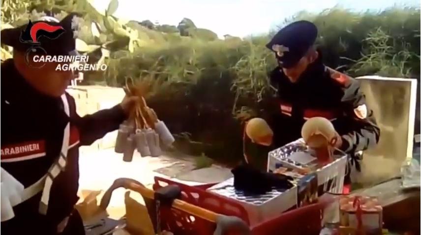 Botti illegali e pericolosi: operazione 'Natale Sicuro' dei Carabinieri, un arresto