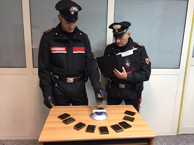 Coppia di spacciatori arrestata a Realmonte: usavano auto a noleggio per evitare i controlli