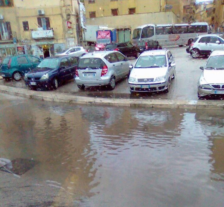 Pioggia e temporali durante l'intera notte: piccoli disagi anche ad Agrigento