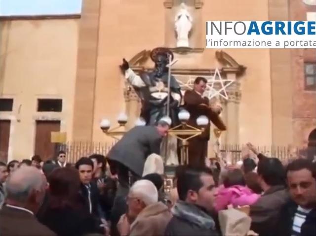 La curiosità di veder festeggiare San Calogero l'11 gennaio