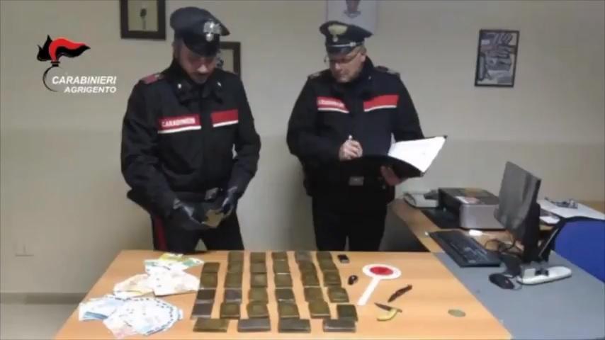 Spaccio di droga nel centro di Agrigento: sei arresti