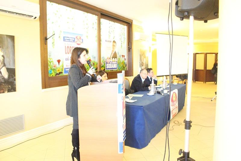 """Campagna elettorale, il ministro Lorenzin parla agli agrigentini: """"Nella politica è importante metterci il cuore"""""""