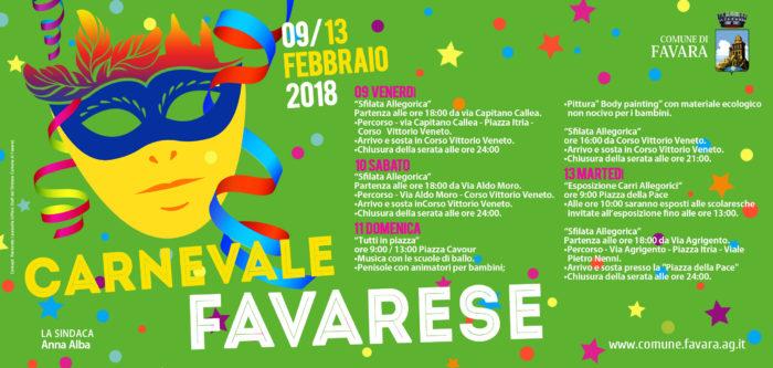 Ritorna il carnevale a Favara