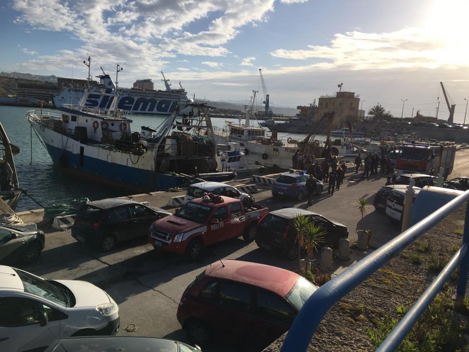 Porto Empedocle: cadavere ritrovato all'interno del porto