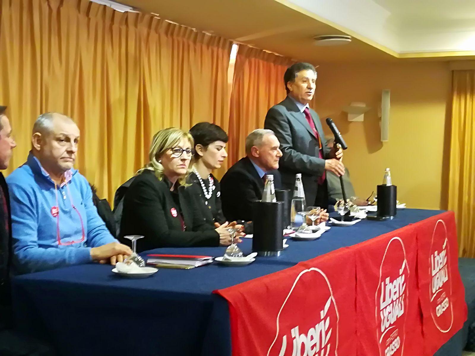 Politiche 2018: tappa di Piero Grasso ad Agrigento