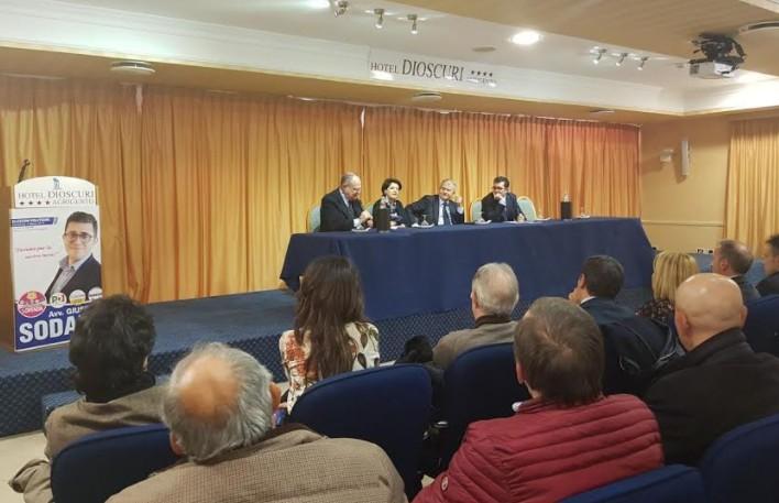 Elezioni politiche 2018: ad Agrigento Cicchitto a sostegno di Sodano e Iacono