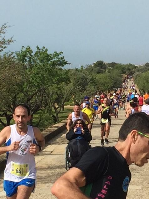 15esima mezza maratona della concordia, primo Lorenzo Abbate