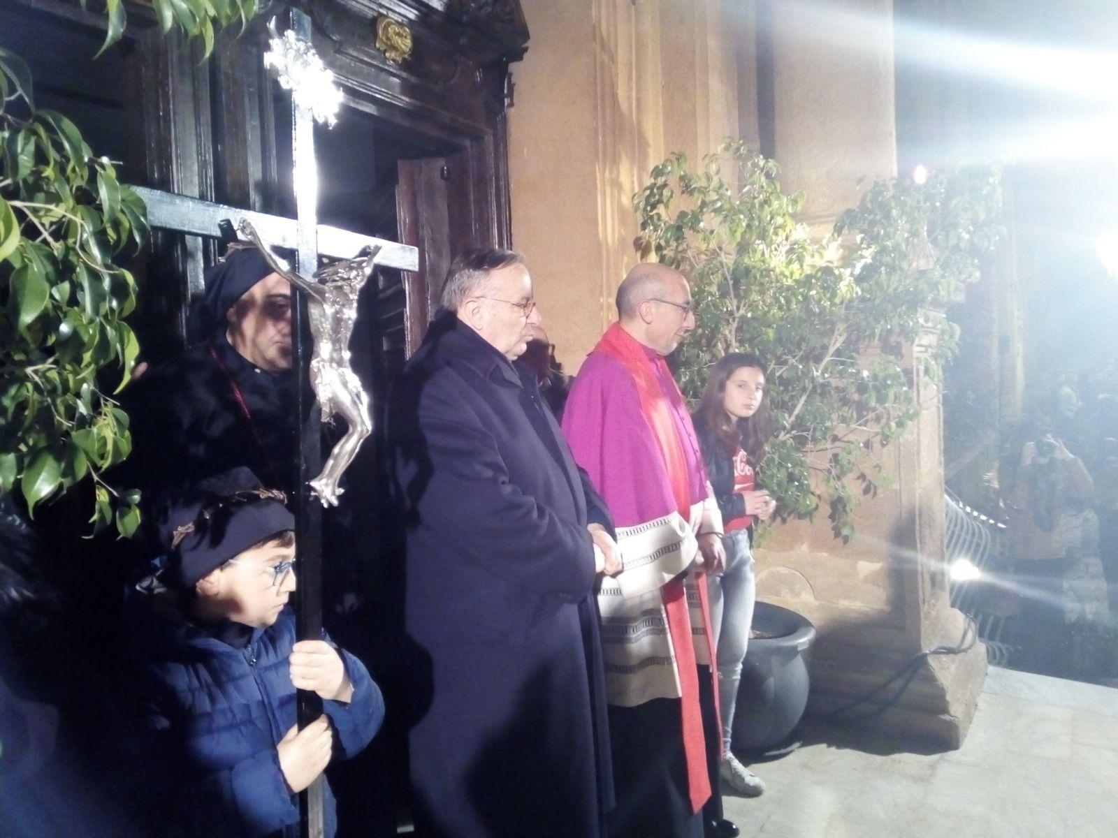 """Venerdì Santo ad Agrigento, Montenegro: """"La crisi sociale continua a segnarci"""""""