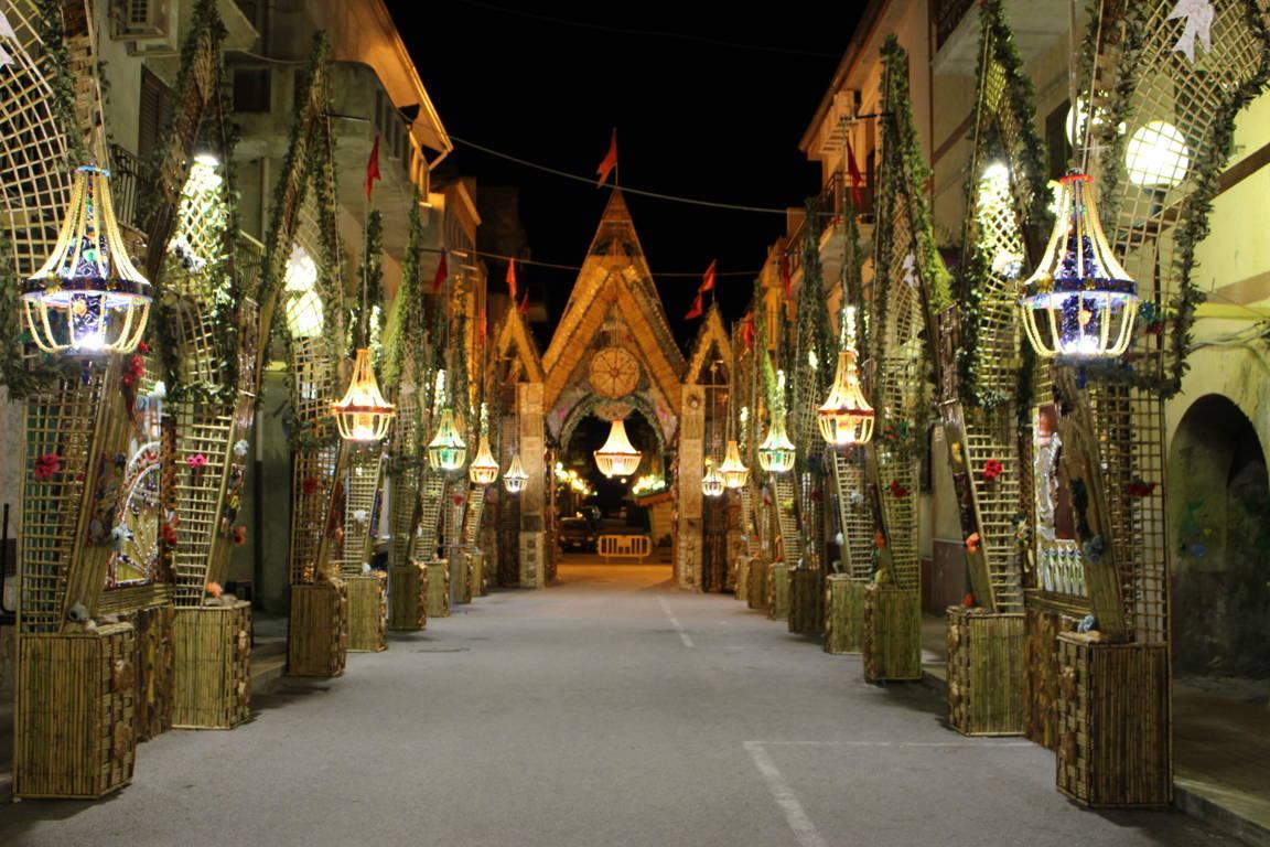 Il ritorno degli Archi di Pasqua a San Biagio Platani
