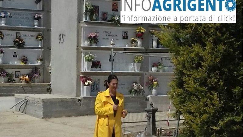 Favara: avvistata Stefania Petyx e il suo bassotto di Striscia la Notizia