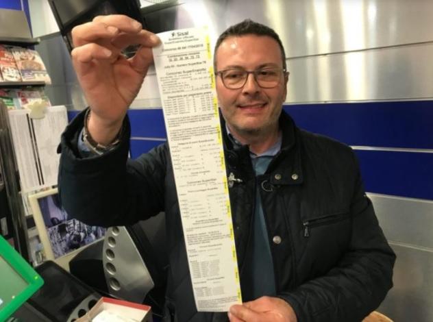 Vincita record a Caltanissetta: centrato un 6 da oltre 130 milioni di Euro