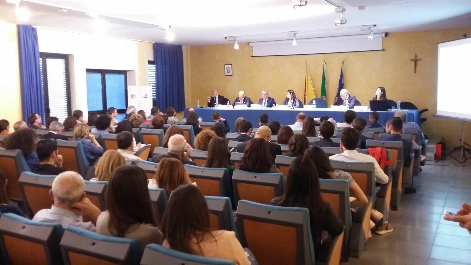 Al polo universitario l'incontro di studio sull'informazione giudiziaria in Italia