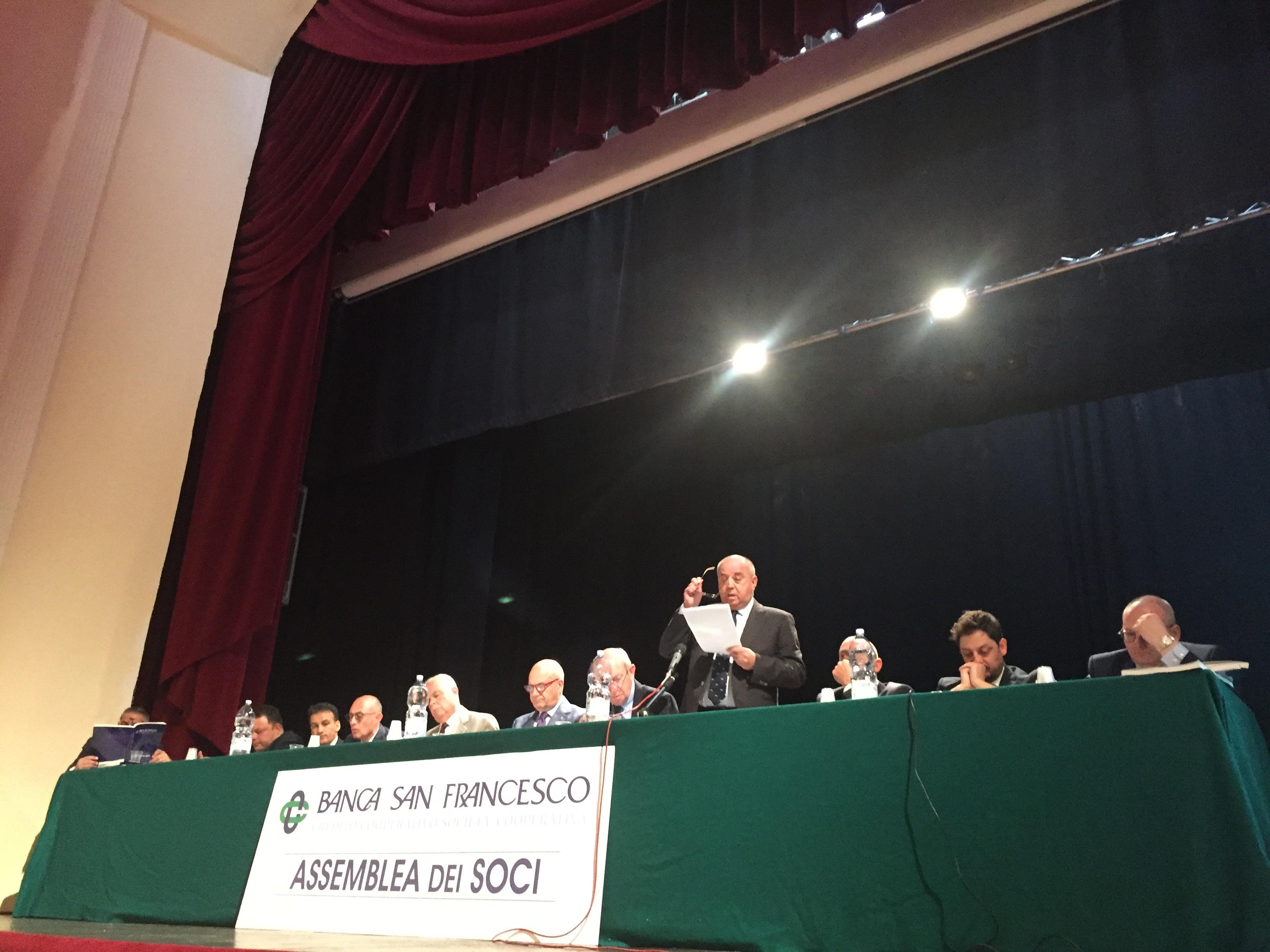 Banca San Francesco. Assemblea approva 15 transazioni per azione responsabilità ex amministratori