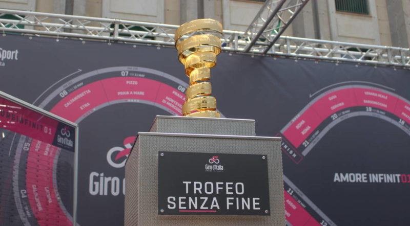 Tutto pronto per la tappa del Giro d'Italia ad Agrigento