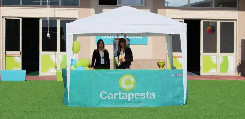 Cartapesta,  il primo parco giochi all'insegna del divertimento per i bambini ad Agrigento