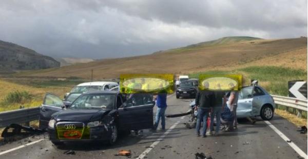 Incidente nella Fondovalle, ferito anche il sindaco di Ribera