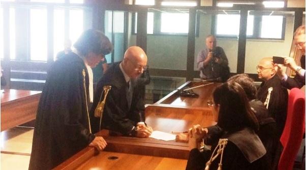 Salvatore Vella si è insediato come sostituto procuratore