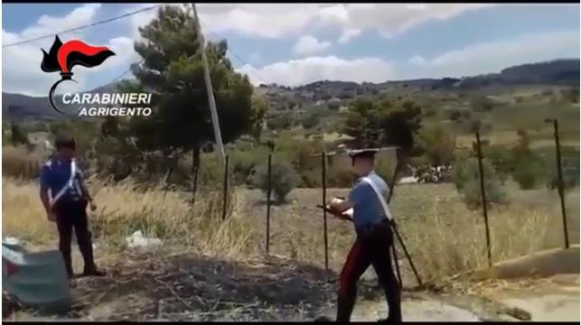 Sorpreso a dare fuoco in contrada Petrusa, arrestato piromane