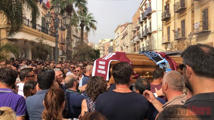 Il saluto di Porto Empedocle a Marco Ferrera