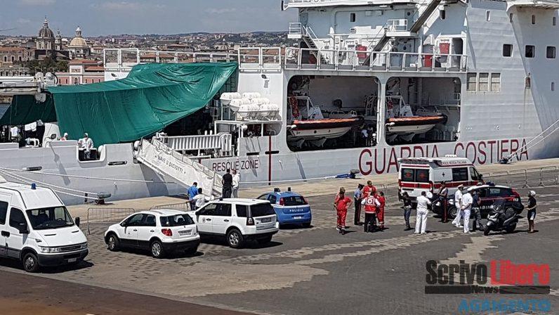 Caso Diciotti: tutti sbarcati i migranti che erano a bordo