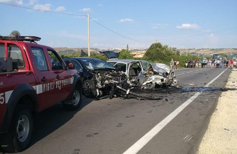 Grave incidente stradale sulla SS 115, morta giovane madre